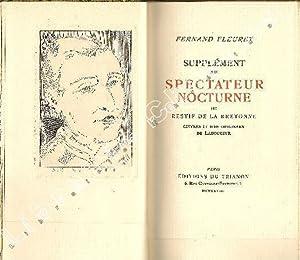 Suppléments à quelques oeuvres célèbres.: COLETTE, CARCO (Francis),