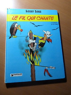 Lucky Luke-Le fil qui chante-Dargaud-BD-Réédition de 1980