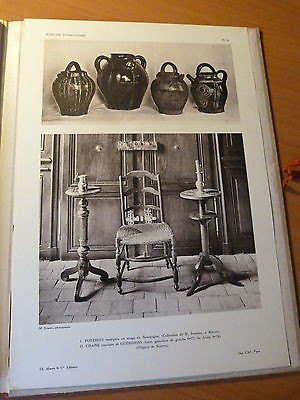 Bourgogne-Le mobilier bourguignon-Art populaire-G. Jeanton-1948