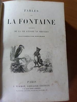 Fables de La Fontaine précédées de la
