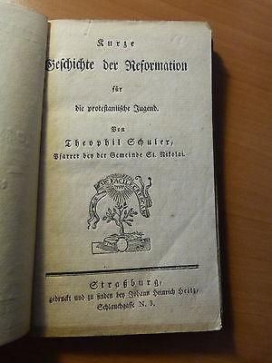 Kurze Geschichte der Reformation für die protestantische Jugend-Alsace-Schuler T