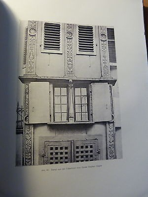 Alsace-Sélestat-Die Frührenaissance in Schlettstadt-Architecture-Fritz Hoeber