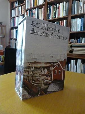 Daniel Boorstin. Histoire des américains. 3 vol. Etats-Unis. USA