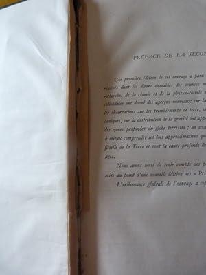 Fourmarier P. Principes de géologie. 2 Tomes. 2ème édition. 1944