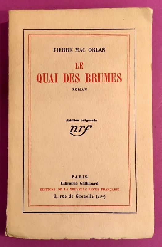 Le_quai_des_brumes_envoi_de_lauteur_MAC_ORLAN_Pierre_Bon_Couverture_souple