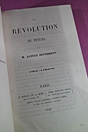 La Révolution de février ; Appel aux Royalistes contre la division de l'opinion ...