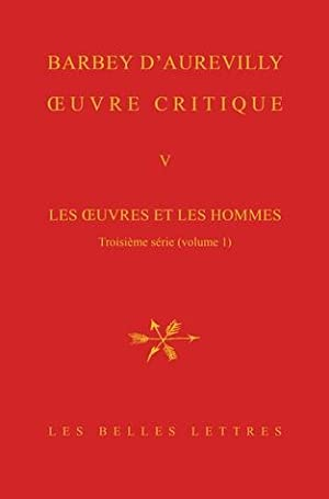 OEUVRE CRITIQUE Tome V