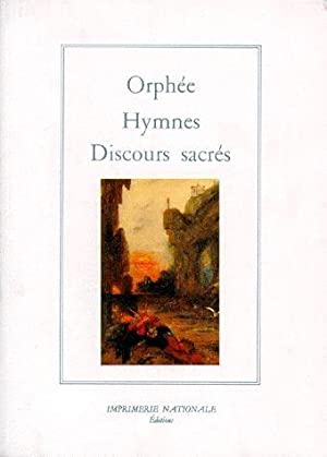 HYMNES ; DISCOURS SACRES