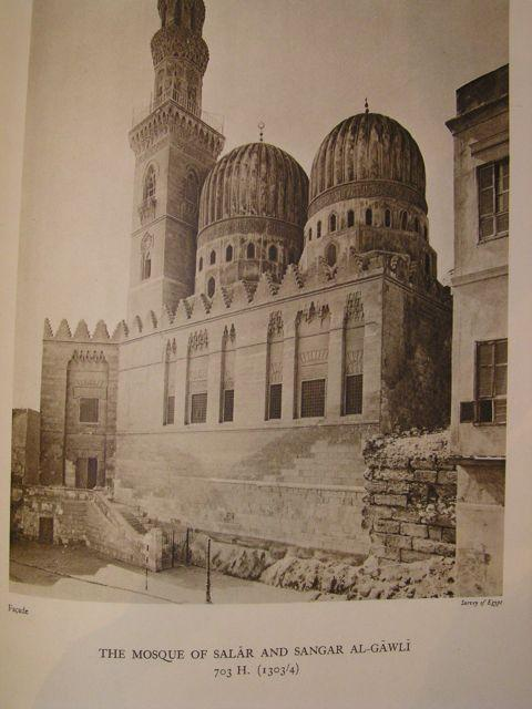 The Mosques of Egypt from 21 H. (641) to 1365 H. (1946). Being a series of views in colour and ...