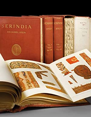 SERINDIA. Detailed Report of Explorations in Central Asia and Westernmost China carried out and d...