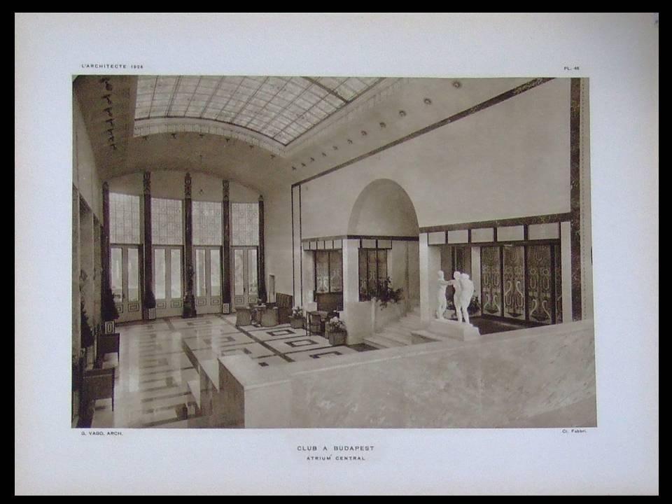 LARCHITECTE_AOUT_1926__BUDAPEST_JOZSEF_VAGO_AUGUSTE_PERRET_EGLISE_PARIS___Bon_Couverture_souple
