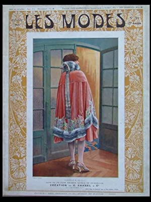 LES MODES n°281 - OCTOBRE 1927 - CHANEL, DRECOLL, JENNY, ZIMMERMANN, FRENCH FASHION