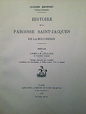 Histoire de la Paroisse Saint-Jacques de la: MEURGEY Jacques (DE