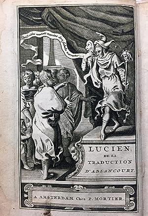 Lucien, de la Traduction de N. Perrot,: LUCIEN DE SAMOSATE