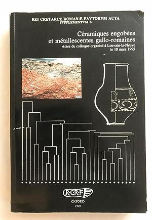 Céramiques engobées et métallescentes gallo-romaines (Rei Cretariae: BRULET R., SYMONDS