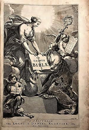 La Sainte Bible, qui contient le Vieux: BIBLE. DESMARETS.