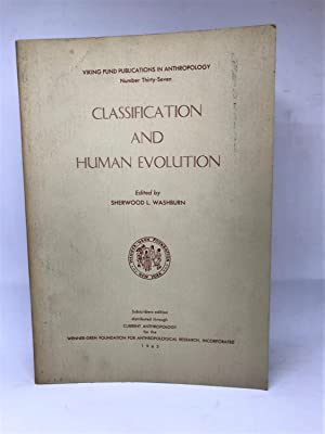 Classification and Human Evolution.