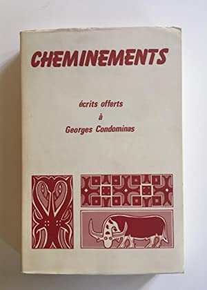 Cheminements, écrits offerts à Georges Condominas. ASEMI. N°164 - Vol. XI 1980.