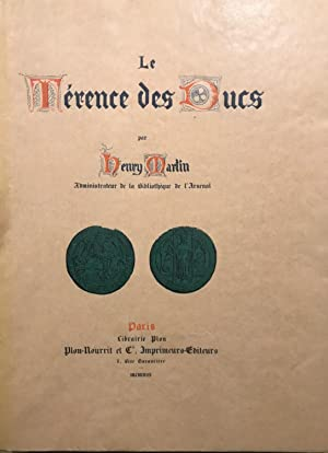Le Térence des Ducs.: TERENCE. MARTIN Henry.