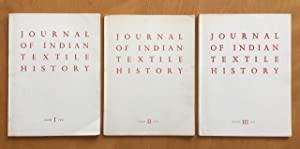 Journal of indian textile history number I to III.