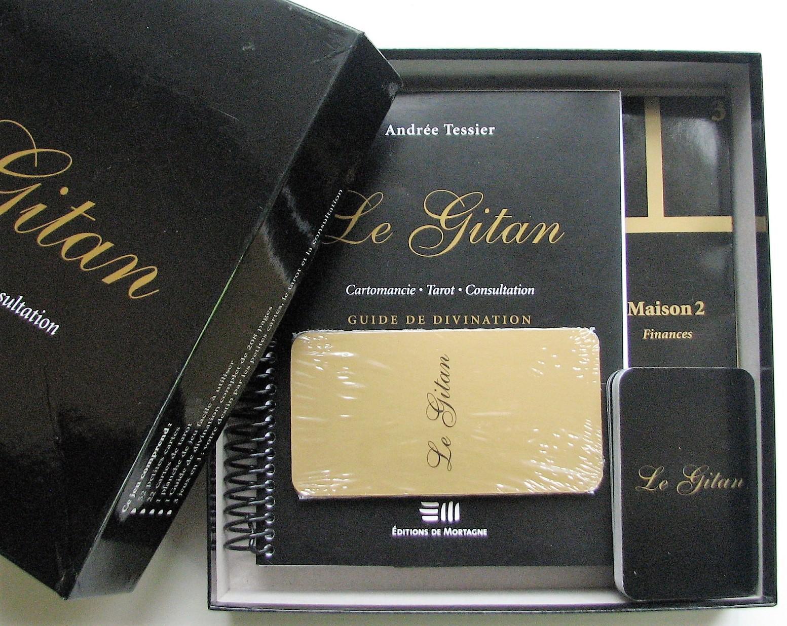Le Gitan  Cartomancie, Tarot, Consultation (coffret)  Tessier, Andrée 1dbd6930c785