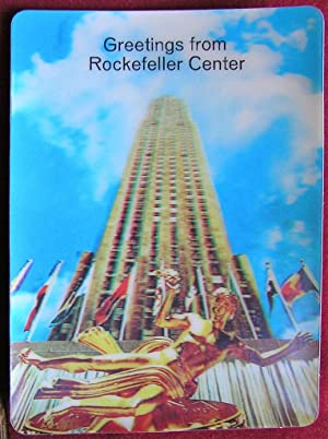 R.C.A. Building 3-D Post Card