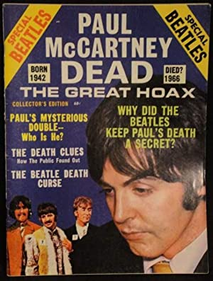 Magazine Paul McCartney Dead