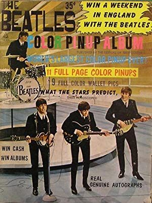 THE BEATLES Color Pin-Up Album