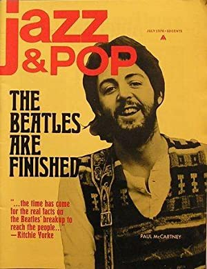 Magazine Jazz & Pop. The Beatles are finished