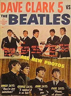 Dave Clark vs The Beatles. Magazine
