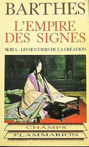 L'empire des signes: Barthes, Roland