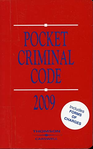 Pocket Criminal Code 2009