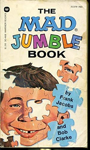 The Mad Jumble Book: by Frank Jacobs