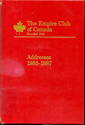 Addresses 1986-1987 - God Save the Queen: edited by Frank