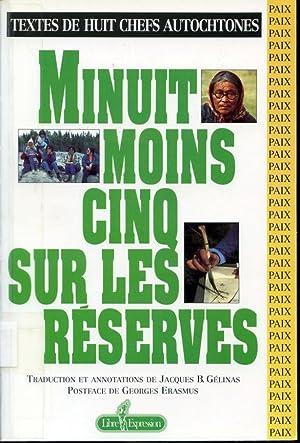 Minuit moins cinq sur les réserves -: traduction de Jacques