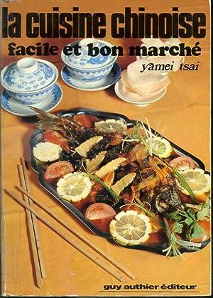 Yamei Tsai Cuisine Chinoise Facile Bon Marché Abebooks