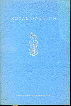 Doulton Suggested Retail Price List effective Janurary: Royal Doulton