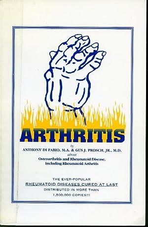 Arthritis : Osteoarthritis and Rheumatoid Disease, Including: Anthony Di Fabio