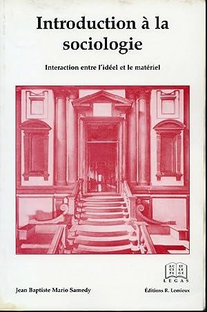 Introduction à la sociologie - Interaction entre: Jean-Baptiste Mario Samedy