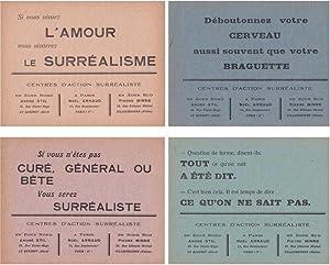 Cartes à jouer du Quatre Vingt et Un: SURREALISME, Marc PATIN, No�l ARNAUD, Andr� STIL, ...