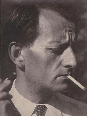 Portrait photographique: MALRAUX André - PESKINE Boris