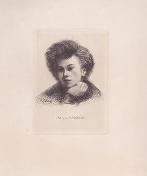 Portrait d'Arthur Rimbaud: RIMBAUD Arthur - GORVEL Georges