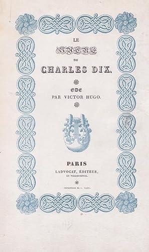 Le Sacre de Charles dix: HUGO Victor