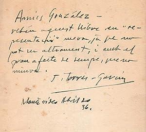ESTRUCTURA (FIRST EDITION, ASSOCIATION COPY to JULIO: TORRES GARCIA Joaquim