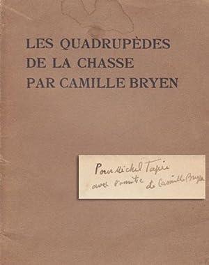 Les Quadrupèdes de la chasse: BRYEN Camille