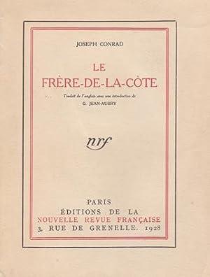 Le Frère-de-la-côte: CONRAD Joseph