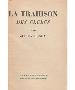 La Trahison des Clercs: BENDA Julien