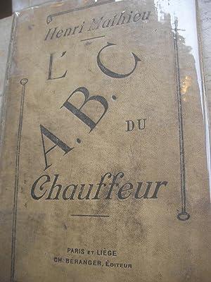 L'A.B.C. DU CHAUFFEUR: MATHIEU HENRI