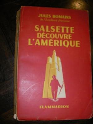 SALSETTE DECOUVRE L'AMERIQUE: ROMAINS JULES