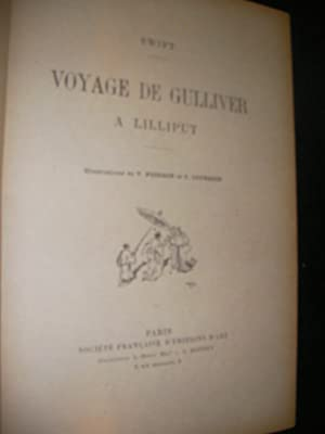 VOYAGE DE GULLIVER A LILLIPUT: SWIFT